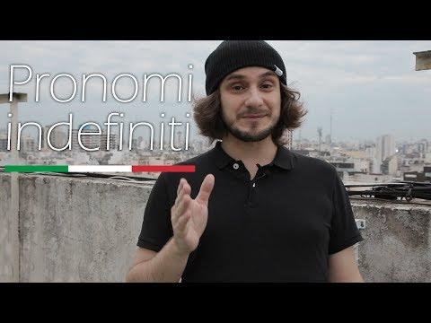 Неопределенные местоимения в итальянском языке | pronomi indefiniti | итальянский язык