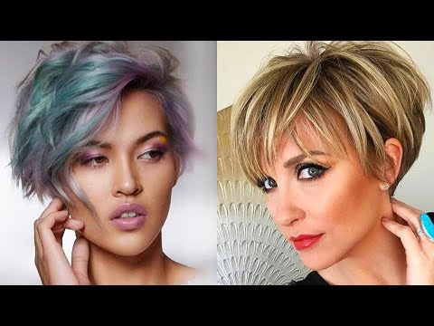 8 Beautiful Short Haircuts for Ladies 😂😘 Amazing Short Haircut Ideas 2018 😂😂