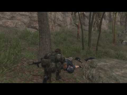 MGS V - live stream (no HUD) - raiding Zaire jungle guard post