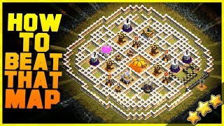 "How to 3 Star ""UNDERGROUND WORKAROUND"" with TH8, TH9, TH10, TH11, TH12 