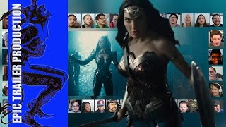 JUSTICE LEAGUE   Official Trailer 1 reaction mashup