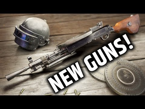 🔵 TWO NEW GUNS & VAULTING - PUBG Battlgrounds Test Server - NEW UPDATE