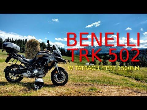 Benelli TRK 502 w Tatrach :) Kilka słów o motocyklu #16