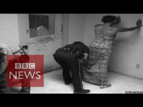 Sandra Bland death: Texas police release new CCTV - BBC News