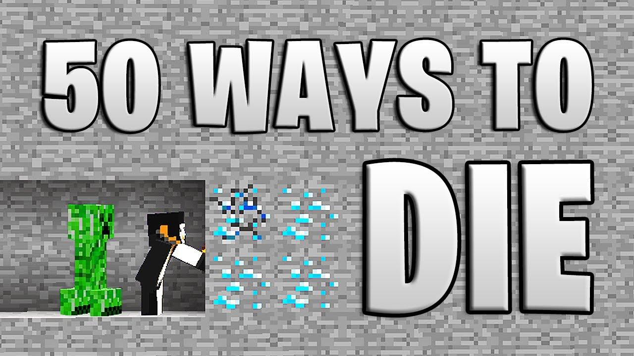 Download Minecraft but it's 50 Ways to Die