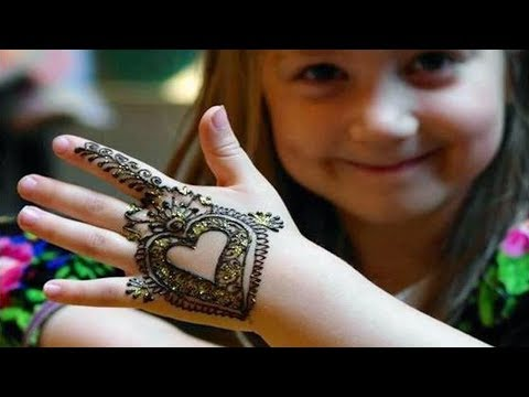 Simple And Easy Beautiful Mehndi Designs For Kids