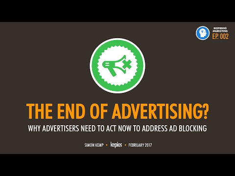 Inspiring Marketing Episode 002: The End of Advertising