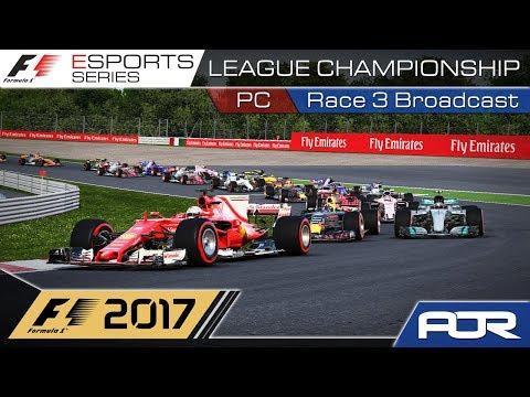 F1 Esports Series 2017: PC League Championship - Race 3 - Japan