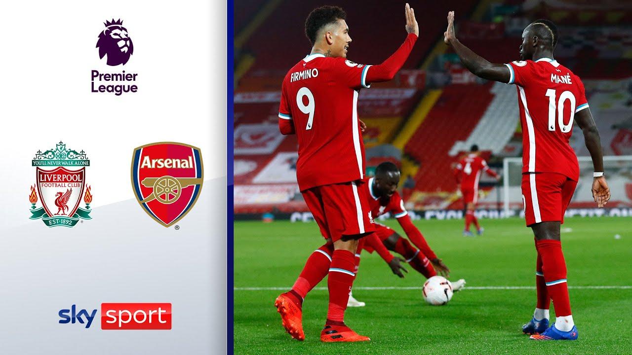 Reds drehen Partie in 6 Minuten | Liverpool - Arsenal 3:1 | Highlights - Premier League 2020/21