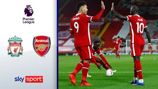Reds drehen Partie in 6 Minuten | Liverpool - Arsenal 3:1 | Highlights - Premier League 2020/21