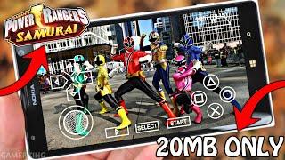[20MB] Power Rangers Samurai Unreleased Android Game | Power Rangers Android Game 2018
