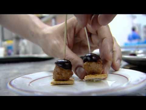 Cereza del Jerte y la Escuela de Hostelería de Madrid preparan tapas con productos extremeños