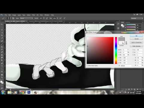 Converse Kicks  Digital Painting  By GLITCHdesigns