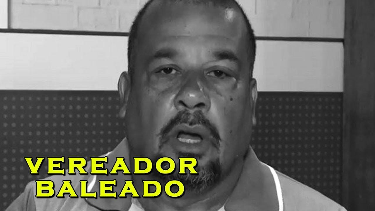 Vereador de Belfort Roxo é BALEADO no Rio de Janeiro!