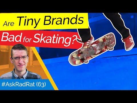 "Are Tiny Brands Like ""Hockey"" Good or Bad for Skateboarding? #AskRadRat (63)"