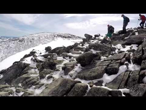 Galdhøpiggen North Europe's highest Mountain the tour