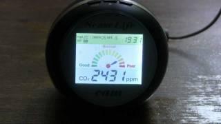 Газоанализатор углекислого газа(Бытовой газоанализатор углекислого газа. Работает от сети 220В, от USB разъёма компьютора или от прикуривател..., 2011-05-25T16:27:20.000Z)