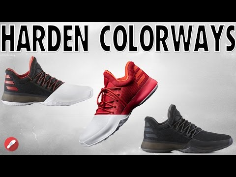 Top 5 Adidas James Harden Vol 1 Colorways!