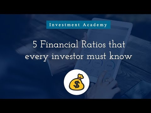 5 Financial Ratios that an investor must know