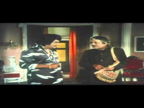 Guru Sishyulu Movie | Satyanarayana Singing Songs Comedy Scene | ANR, Krishna, Sridevi