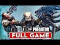 ALIENS VS PREDATOR Campaign Gameplay Walkthrough Part 1 FULL GAME [1080p HD PC] - No Commentary
