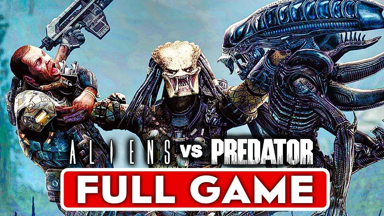 Aliens Vs Predator Campaign Gameplay Walkthrough Part 1 Full Game