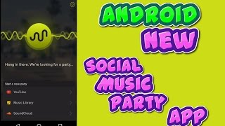 """Android New Social Music Party App : """"AmpMe"""" screenshot 3"""