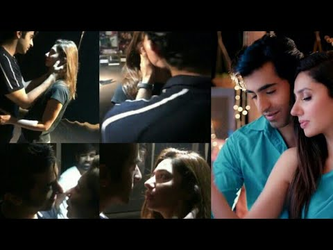 Mahirah khan and shahyar Munawar romantic dance and seen doing on their upcoming movie song..