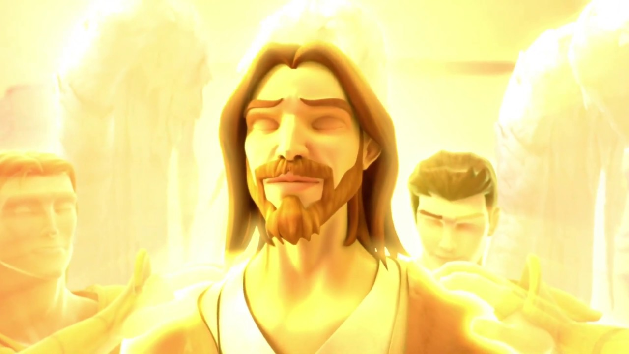 "Superbook ""Jesus in the Wilderness"" - The Salvation Poem"
