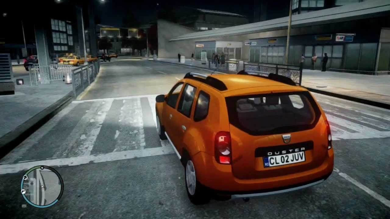 dacia renault duster gta iv mod youtube. Black Bedroom Furniture Sets. Home Design Ideas