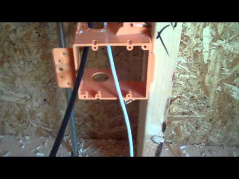 How to Wire for a Cable TV or Satellite TV Jack