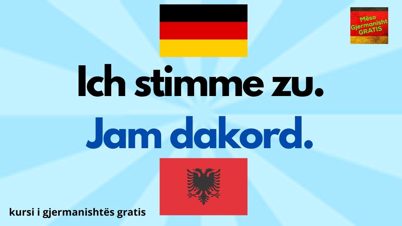 Download 60 Minuta Fjale dhe Shprehje Gjermanisht Shqip - Mëso Gjermanisht - Gratis A1 A2 B1 B2