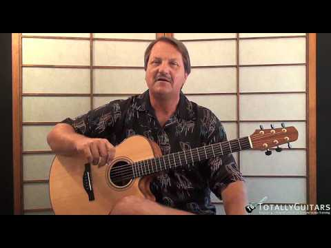 Under The Milky Way Acoustic Guitar Lesson Preview - The Church