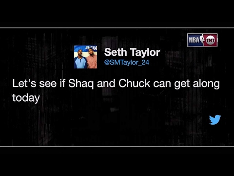 Inside the NBA: Shaq and Charles Back At It Again | NBA on TNT