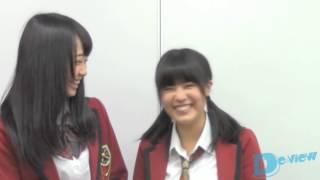 加藤夕夏&山口夕輝(NMB48)/月刊デ☆ビュー2014年7月号掲載