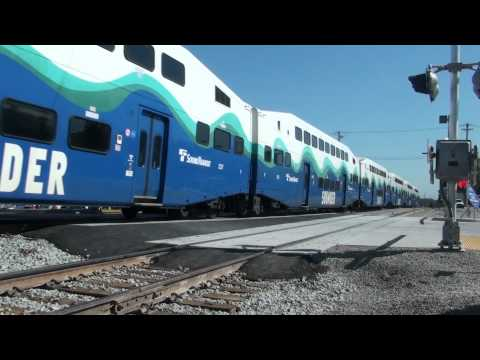 Sounder Test Trains # 3 & speed runbys