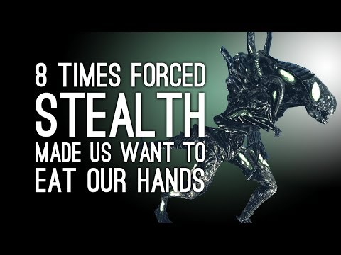 8 Times Forced Stealth Sections Made Us Want to Eat Our Own Hands