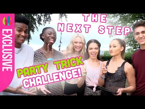 The Next Step Cast React to Your Party Trick Challenges!