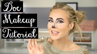 Doe / Bambi Halloween Makeup Tutorial Thumbnail
