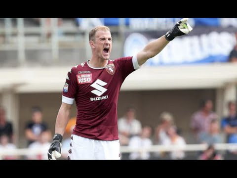 Joe Hart debut for Torino vs Atalanta HD 11/9/2016