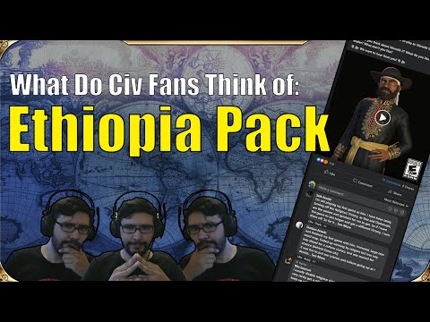 What Do Civ Fans Think of The New Ethiopia Pack? (Civilization 6: New Frontier Pack) |