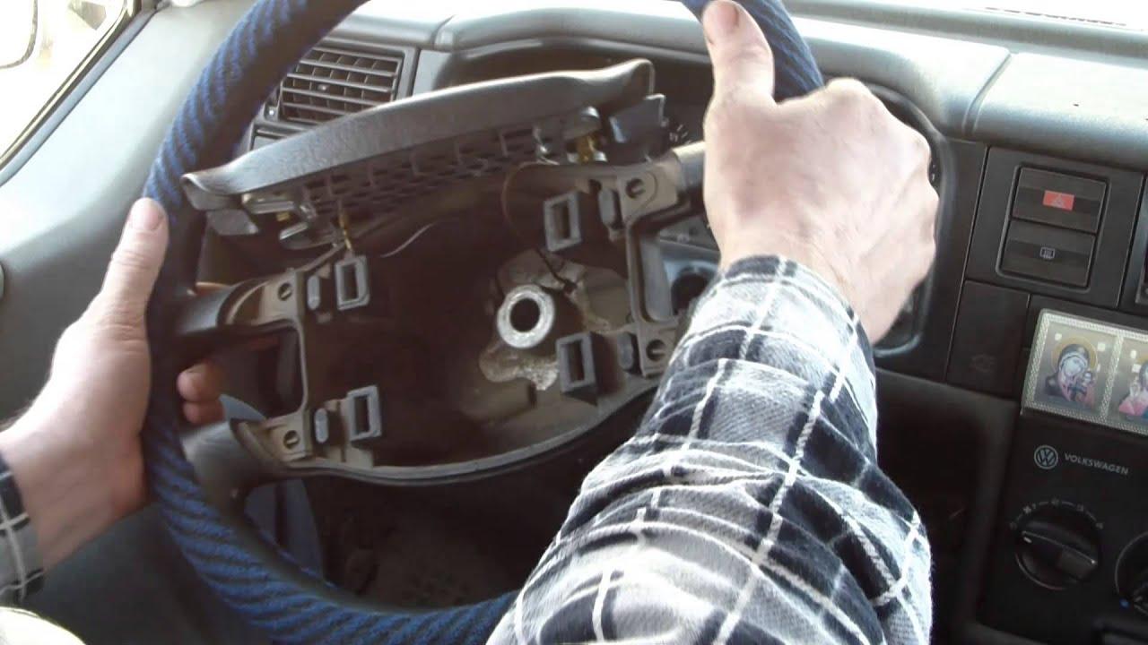 Рулевое колесо и звуковой сигнал. Beep. - YouTube