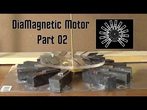 The Diamagnetic Motor Part 02