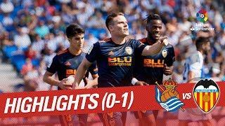 Resumen de Real Sociedad vs Valencia CF (0-1)