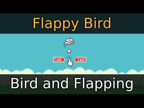 Godot Engine Tutorial - Flappy Bird - 02 Bird and Flapping
