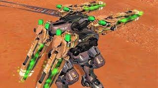 War Robots [3.8] Test Server - NEW Medium Weapon Ballista Gameplay
