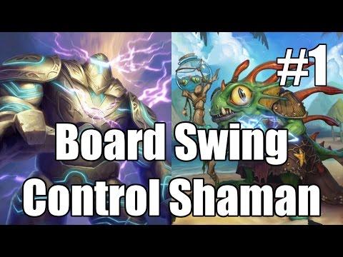 [Hearthstone] Board Swing Control Shaman (Part 1)