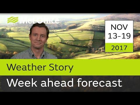 Week Ahead forecast 13-19 November