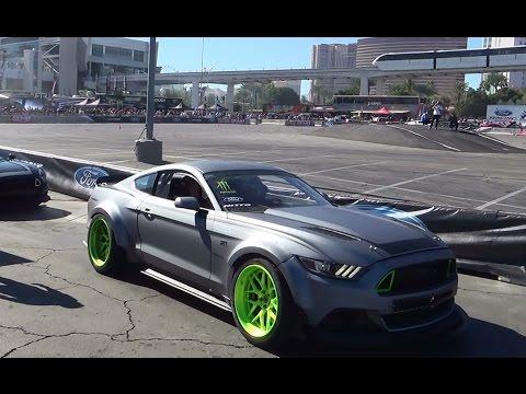 2015 Mustang Drifting  SEMA 2014