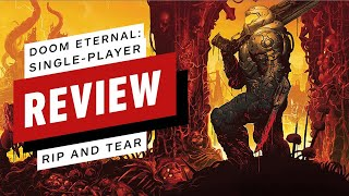 Doom Eternal Single-Player Review (Video Game Video Review)